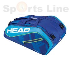 Head Elite 12R Monster Combi Tennis Kit Bag( Blue)