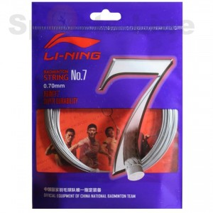 Li-ning 7 badminton strings (10 Piece)