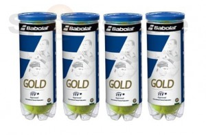 Babolat Gold Pet X3 Tennis Ball (4 Cans)