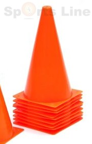 CONE MARKERS  6 INCH   12 PCS SET