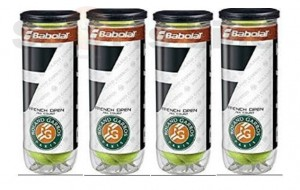 Babolat RG French Open All Court X3 Tennis Ball (4 Cans)