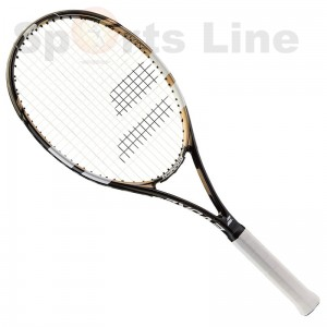 Babolat Evoke 102 Tennis Racket Gold With Black
