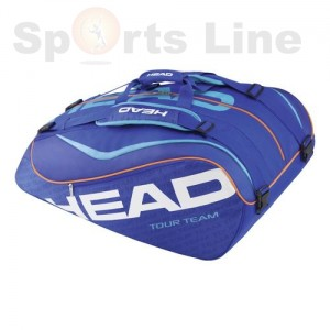 Head Tour Team 12R Monster Combi Tennis Bag (Blue)