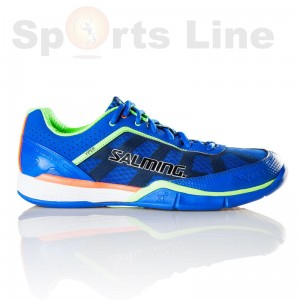 Salming Viper 3 Men (Royal/GeckoGreen) Badminton Shoe