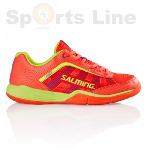 Salming Adder Women (DivaPink/SafetyYellow) Badminton Shoe