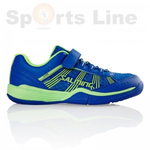 Salming Viper 3 Kid (Royal/GeckoGreen) Squash Shoe